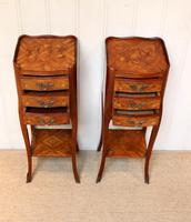 Pair of Tulipwood Bedside Cabinets (6 of 10)