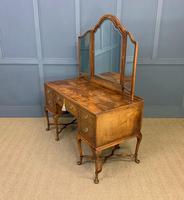 Substantial Burr Walnut Dressing Table (18 of 18)