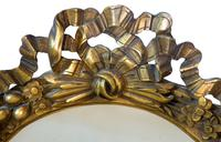 Continental Carved Giltwood Circular Wall Mirror c1900 (3 of 6)