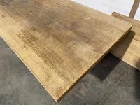 Huge Oak Farmhouse Dining Table with Extensions (15 of 24)