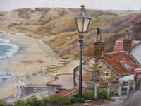 Oil on Canvas Cornish Seascape Artist M M Tomlinson (4 of 10)