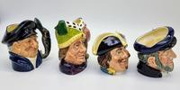 Four Small Royal Doulton Toby Jugs (10 of 16)