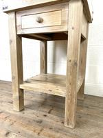 Rustic Wooden Butcher's Block with Marble Top (7 of 10)