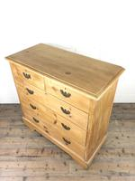 Antique Pine Chest of Drawers (5 of 10)