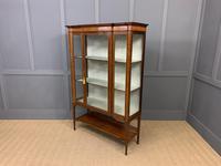 Edwardian Inlaid Mahogany & Satinwood Display Cabinet (11 of 12)