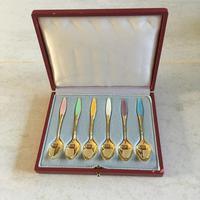 Danish Sterling Silver Mocha/Coffee spoons. 1960s (2 of 4)