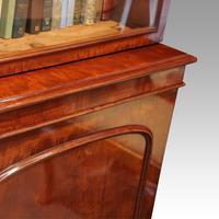 Victorian mahogany library bookcase (8 of 11)