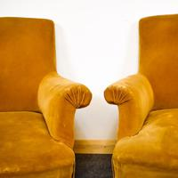 Napoleon III Pair of His & Hers Club Chairs (6 of 8)
