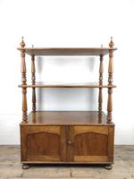 19th Century Mahogany Buffet with Cupboard Base (8 of 18)