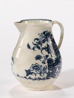 Late 18th Century Liverpool Blue and White Printed Jug (2 of 4)
