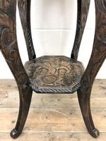 Early 20th Century Carved Side Table (5 of 9)