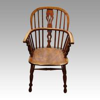 Set of 6 19th Century Windsor Armchairs (3 of 6)