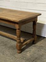 Rustic French Oak 19th Century Farmhouse Kitchen Table (9 of 31)