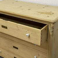 Old Czech Pine Chest of Drawers (4 of 4)