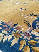 Antique Chinese Art Deco Carpet 3.15m x 2.71m (5 of 13)