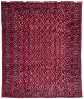 Antique Afghan Beshir Carpet