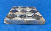 Victorian Mother of Pearl & Abalone Card Case (10 of 11)