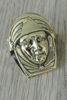 French Art Nouveau Brass Paper Clip Letter Clip c.1905 (5 of 5)