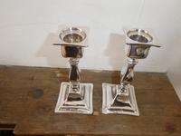 Pair of Silver Candlesticks 1918 (7 of 10)
