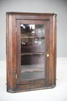 Rustic Oak Corner Cupboard (4 of 13)