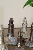 Rare Marble Collection of 9 Carved Lighthouse (7 of 15)