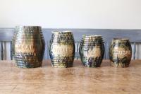 Scottish Pottery Slipware Barrel Storage Jars x4 (2 of 35)