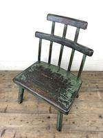 Unusual Primitive Style Painted Stick Chair (8 of 10)