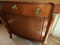 Dutch Empire Oak Side Cabinet (3 of 10)