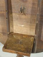 Good George III Period Oak Tilt Table of Substantial Size (6 of 6)