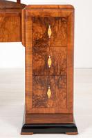 Art Deco Walnut Dressing Table (4 of 8)