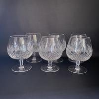 Six Waterford 'Colleen' Crystal Brandy Balloons