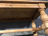 Large Refectory Bleached Oak Farmhouse Table (14 of 17)