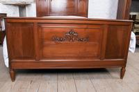 Lovely French Cherry King Size Bed with Simple Carvings (3 of 9)