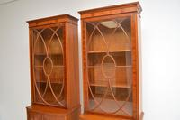 Pair of Antique Mahogany Waring & Gillows Bookcases (9 of 9)