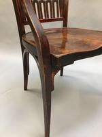 Secession Desk Chair by Otto Wagner, stamped (9 of 11)