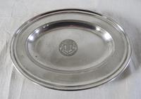 Silver Plated Salvers / Serving Plates 19th Century (7 of 9)