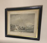 Georgian framed aquatint after Samuel Howitt (9 of 9)