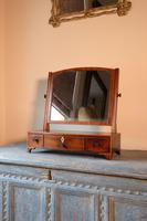 19th Century Inlaid Mahogany Dressing Table Mirror (2 of 23)