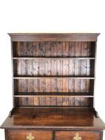 Antique Early 20th Century Oak Pot Board Dresser (14 of 14)
