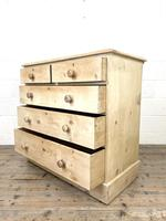 Antique Pine Chest of Drawers on Plinth Base (8 of 9)