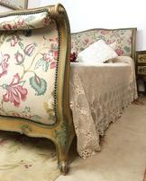 French Roll End Style Double Bed Frame With Matching Armchairs & Side Table (8 of 17)