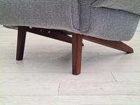 1970s Danish Design, Completely Restored Armchair, Furniture Wool, Teak Wood (7 of 12)