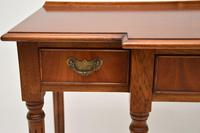 Antique Georgian Style  Mahogany Console Table (6 of 10)