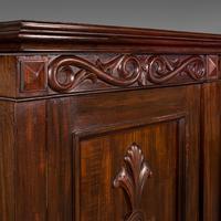 Huge, 15 Foot Antique Glazed Bookcase, English, Mahogany, Victorian c.1880 (6 of 12)