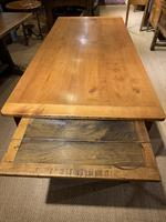 Farmhouse table cherry wood 71 inches long (3 of 11)
