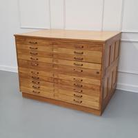 Vintage 1950s Plan Chest (5 of 7)