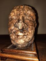5th-12th Century Extremely Rare Early Gandharan Carved Quartz Crystal Buddhist Head (7 of 14)