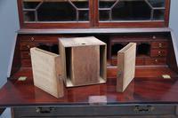 Superb Quality 18th Century Mahogany Bureau Bookcase (10 of 23)