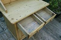 A Rare, Old Pine Sideboard/ Cupboard/ Desk/ Baby Changing Unit (8 of 11)