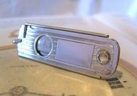 Vintage Pocket Watch Chain Fob 1930s Large Silver Chrome Valet Cigar Cutter Fob (3 of 12)